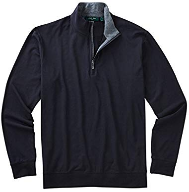 Bobby Jones Mens Liquid Cotton 1/4 Zip Pullover Review