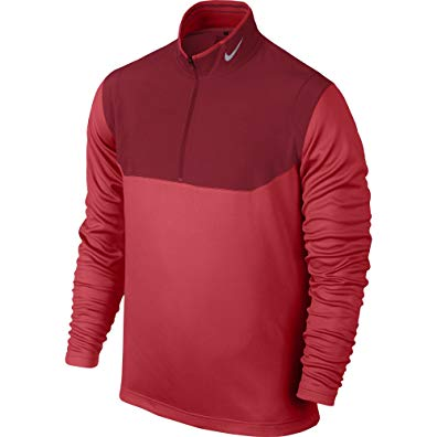 NIKE Men's Dri-Fit 1/2 Zip Pull Over Review