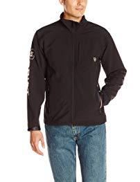 Ariat Men's Logo Softshell Jacket, Black, X-Large Review