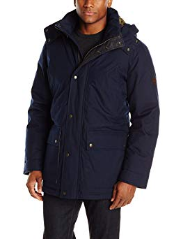 Cole Haan Men's Brushed Flannel Parka