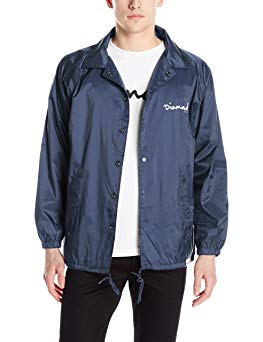 Diamond Supply Co Men's OG Script Coach's Jacket Review