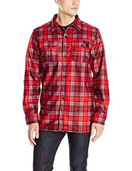 Volcom Men's Drip Bonded Flannel Jacket Review