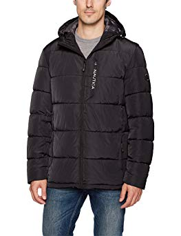 Nautica Men's Quilted Hooded Parka Jacket Review