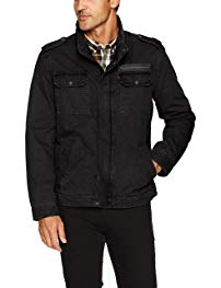 Levi's Men's Washed Cotton Two Pocket Military Jacket Review