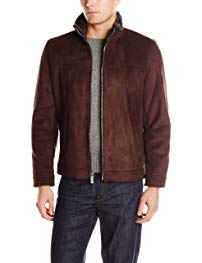 Nautica Men's Faux Shearling Open Bottom Coat Review